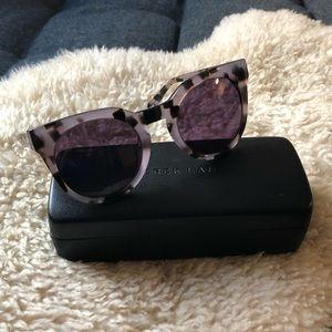 Derek Lam Stella Lilac Tortoise Sunglasses 51mm
